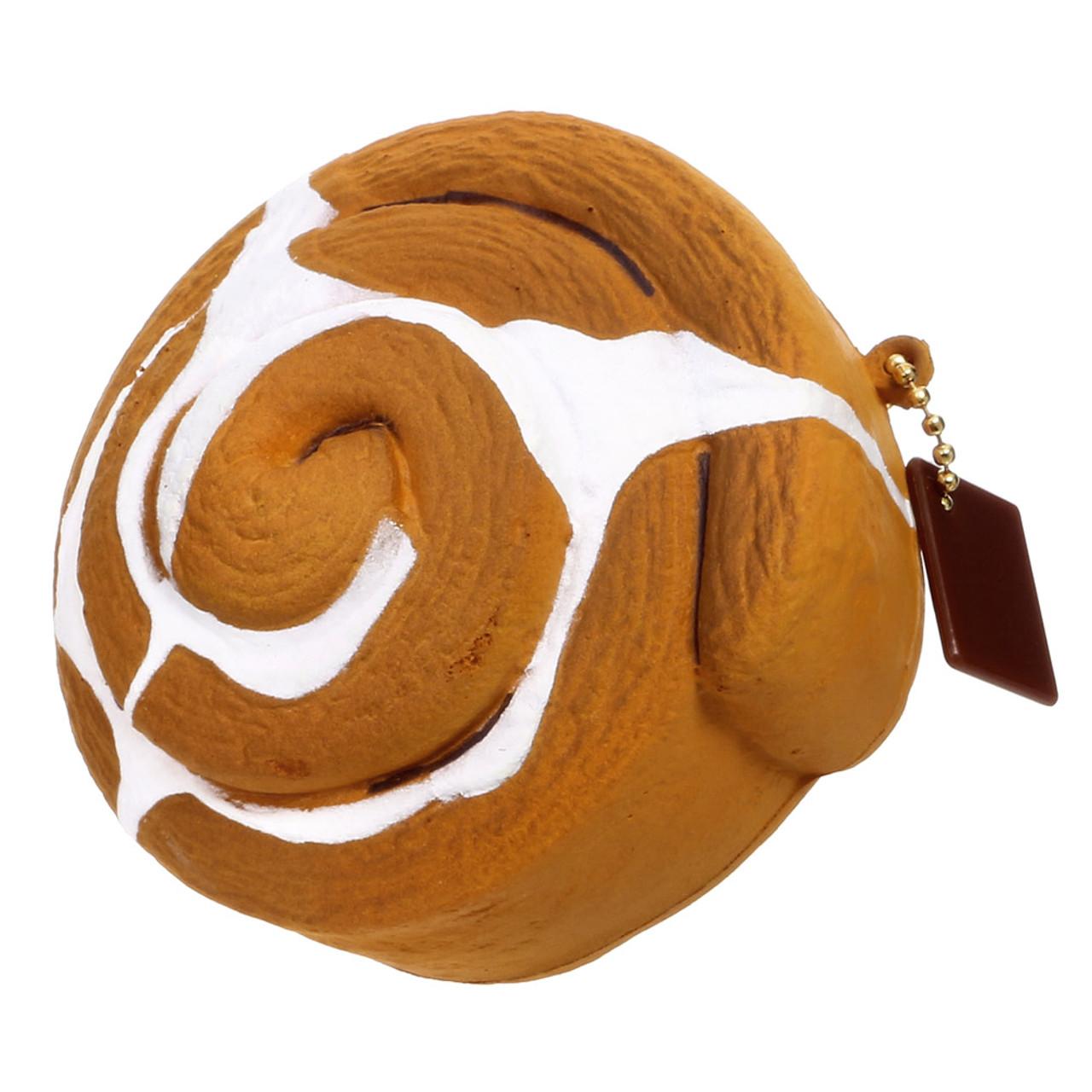 Café De N Coffee House Cinnamon Roll Plane Squishy Toys Charms ( 45 Degree Angle )