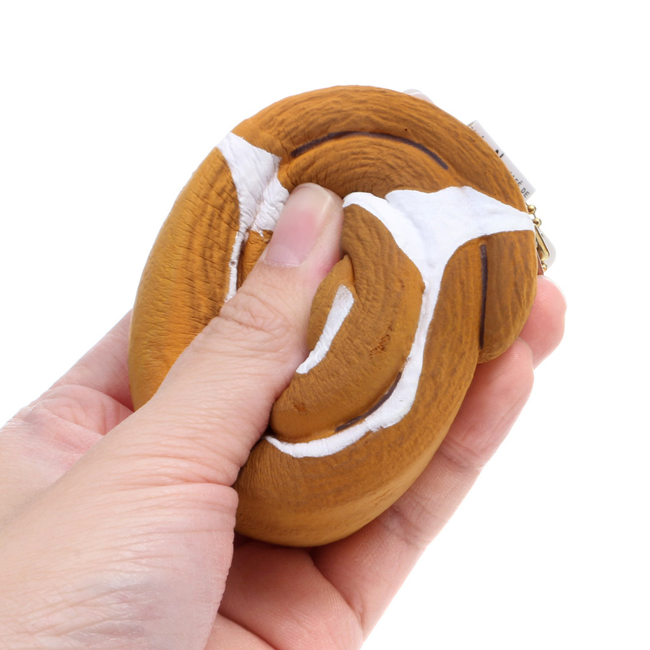 Café De N Coffee House Cinnamon Roll Plane Squishy Toys Charms ( Proportion & Squeezing Mode )
