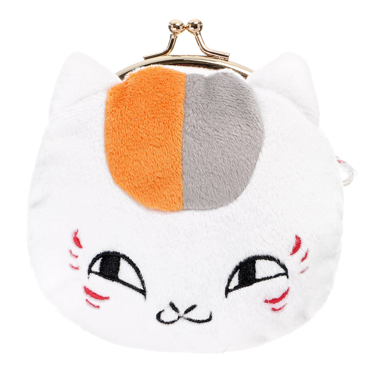 Pink Kitty Fabric Coin Purse// Bag Charm for Kids 10.5cm Width