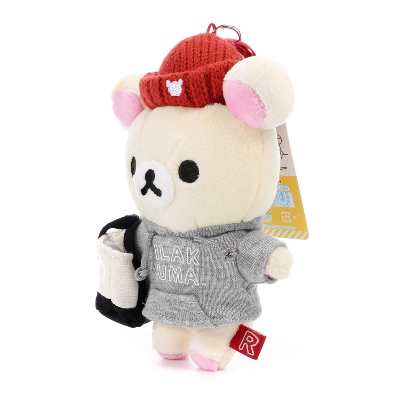 Korilakkuma Plush Doll Sleeping Bag Strawberry San-X Japan Rilakkuma