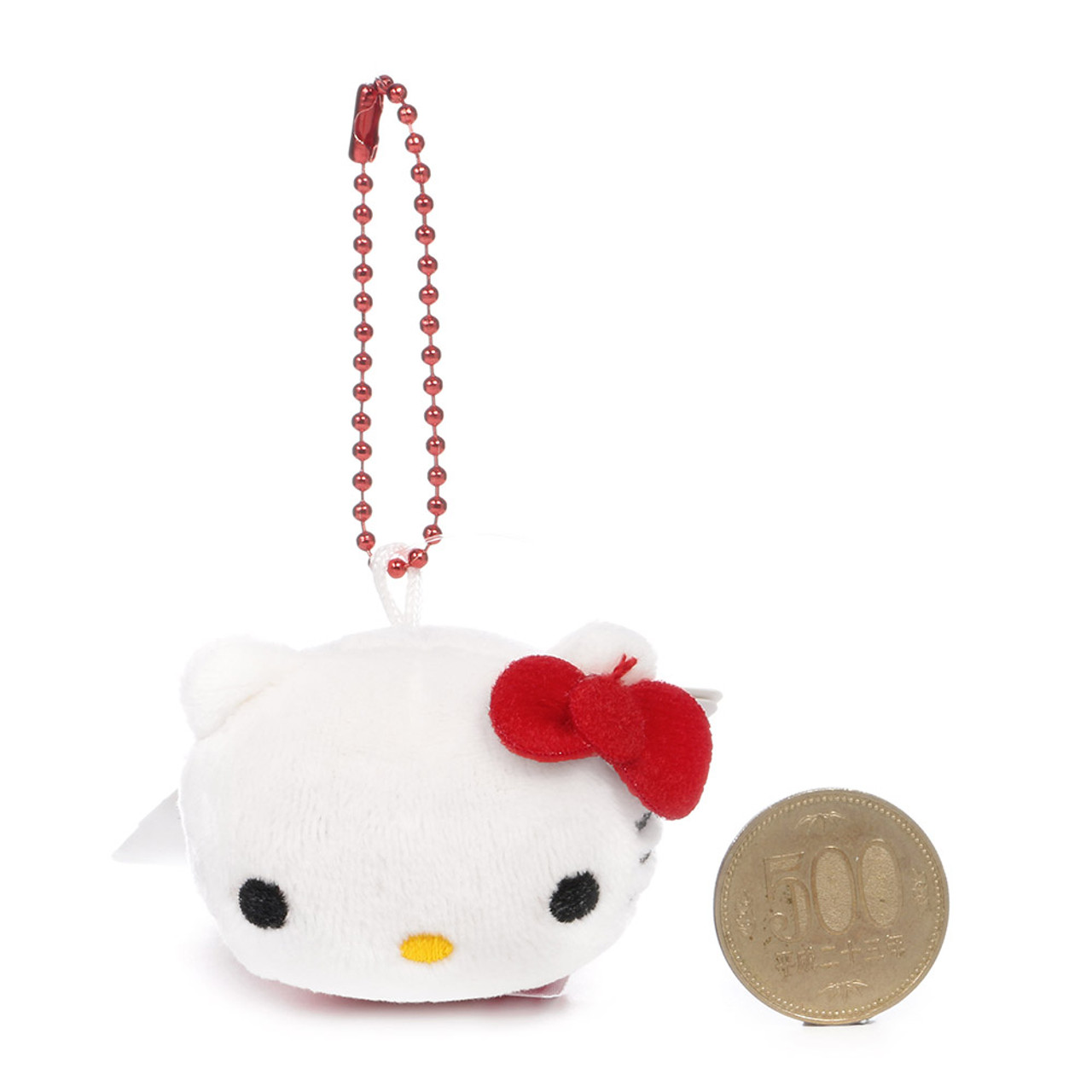 Sanrio x Monimals Hello Kitty Cute Animal Mascot Plush Keychain ( Proportion )