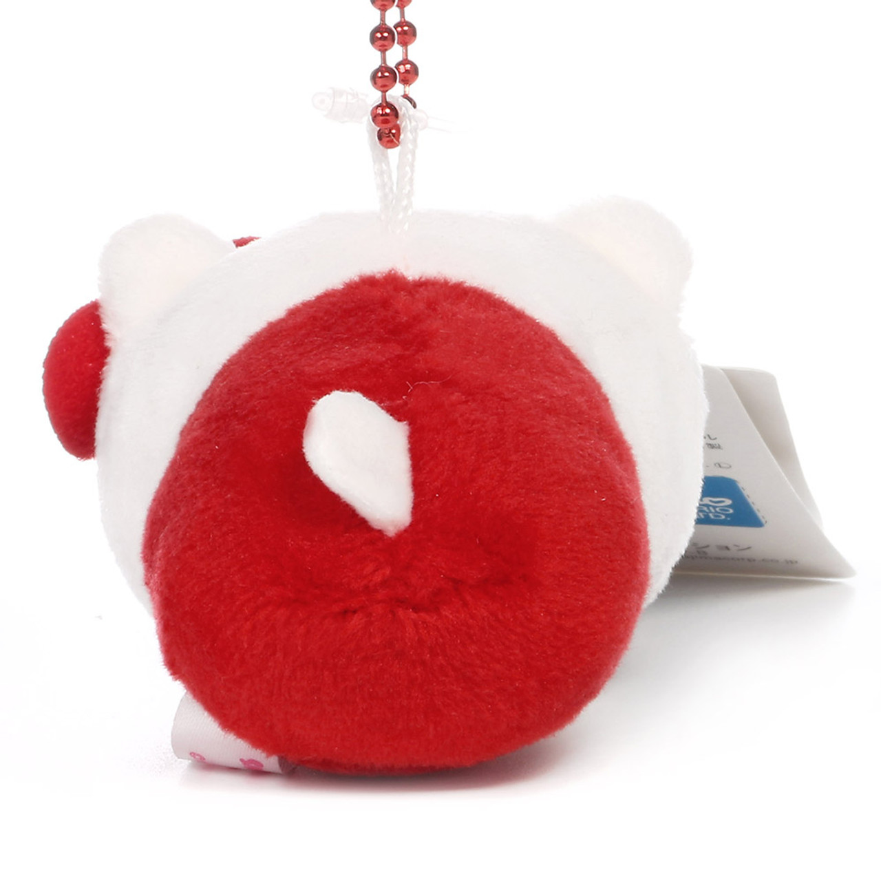 Sanrio x Monimals Hello Kitty Cute Animal Mascot Plush Keychain ( Back View )