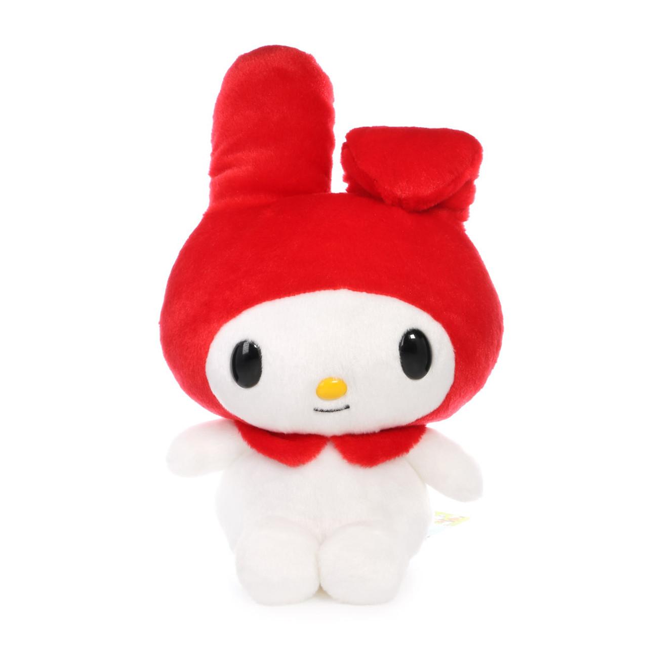 "Sanrio My Melody Plush Keychain 3.5"" Red"