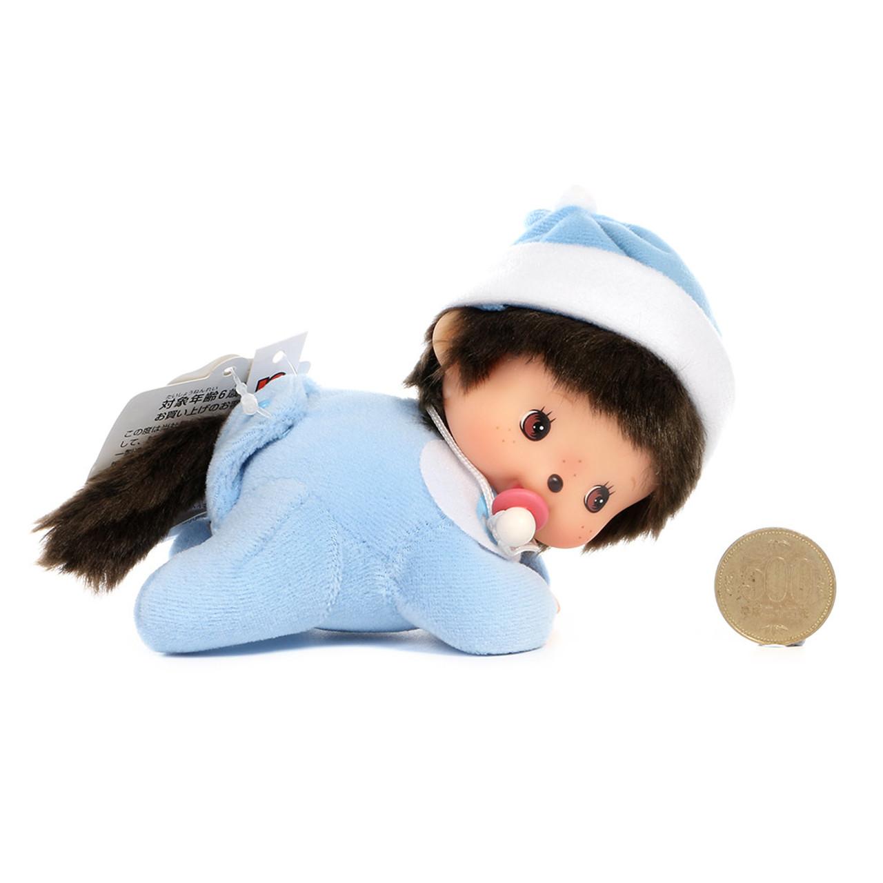 Sekiguchi Bebichhichi Monkey Boy Baby Shirt Crawling Plush Doll - Small ( Proportion )