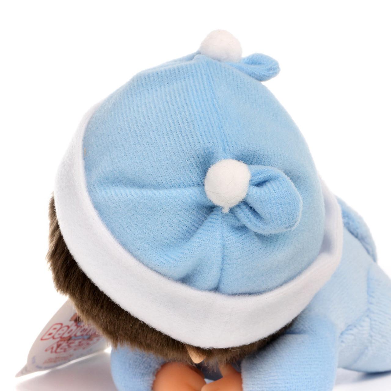 Sekiguchi Bebichhichi Monkey Boy Baby Shirt Crawling Plush Doll - Small ( Feature 01 )