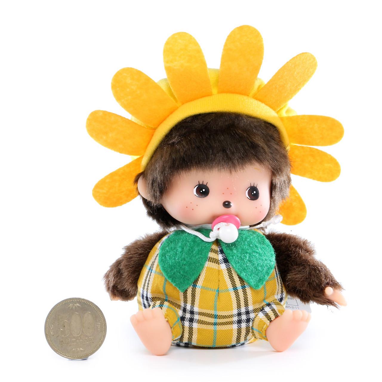 Sekiguchi Bebichhichi Birk Pineapple & Sunflower Costume Baby Plush Doll ( Proportion )
