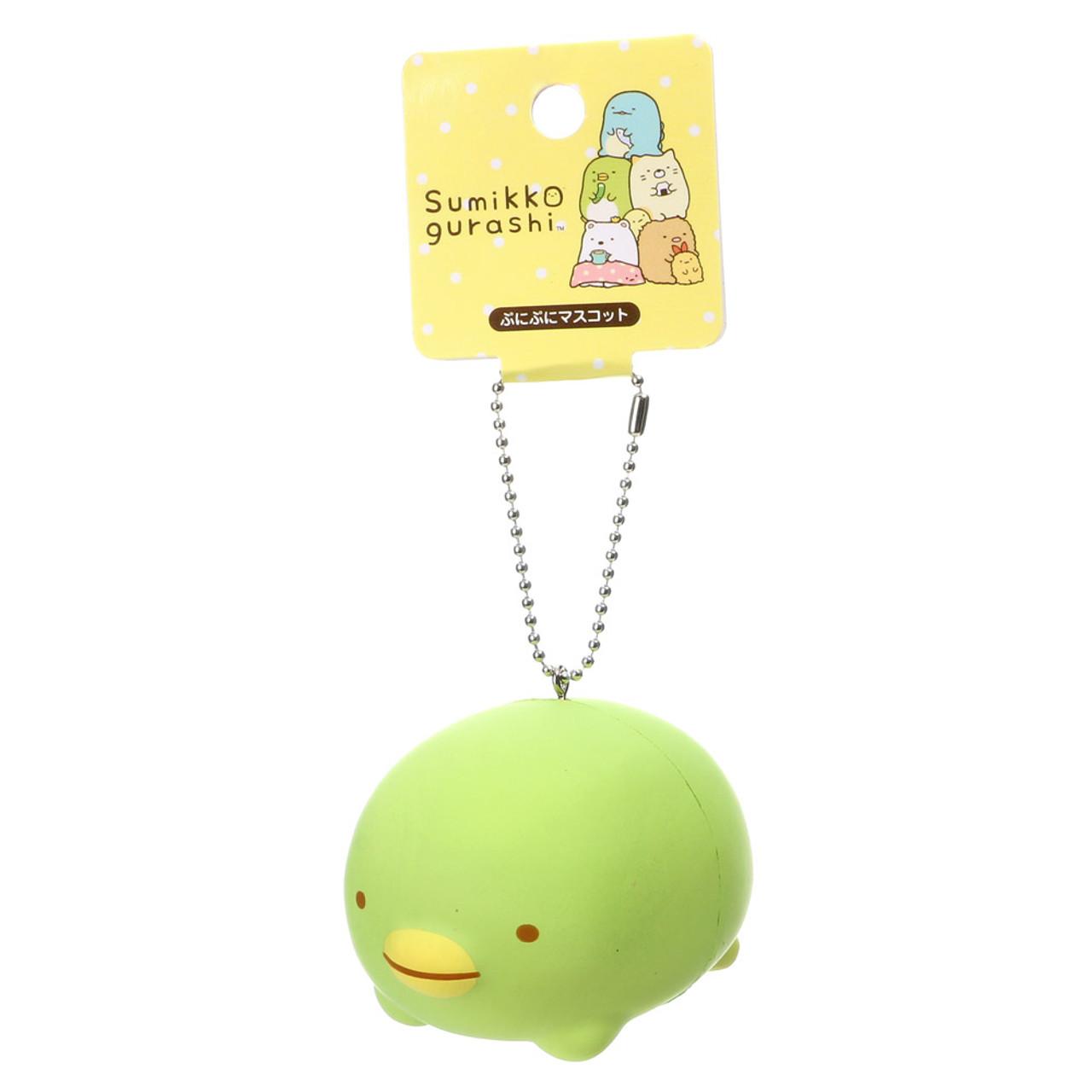 San-x Sumikko Gurashi Tsum Tsum Style Penguin Squishy Toy Charm ( Tag Front View )