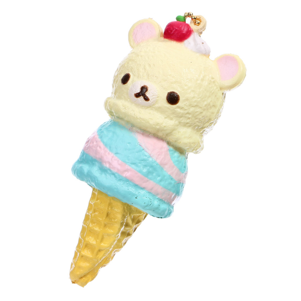 San-x Korilakkuma Berry Mint Double Ice-cream Squishy Charms ( Cover View )