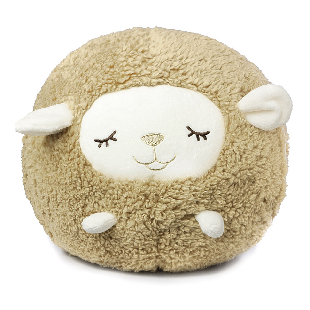 Liv Heart Brown Maple Sheep Doll Cushion ( Front View )