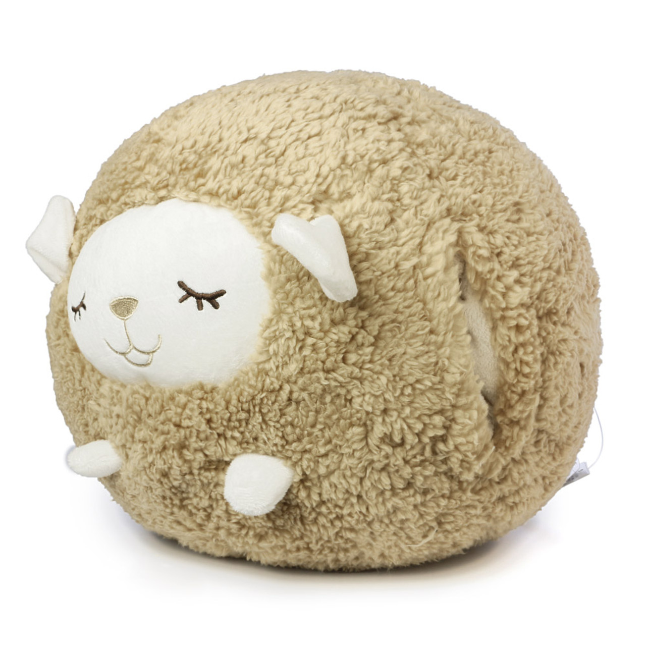 Liv Heart Brown Maple Sheep Doll Cushion ( Side View )