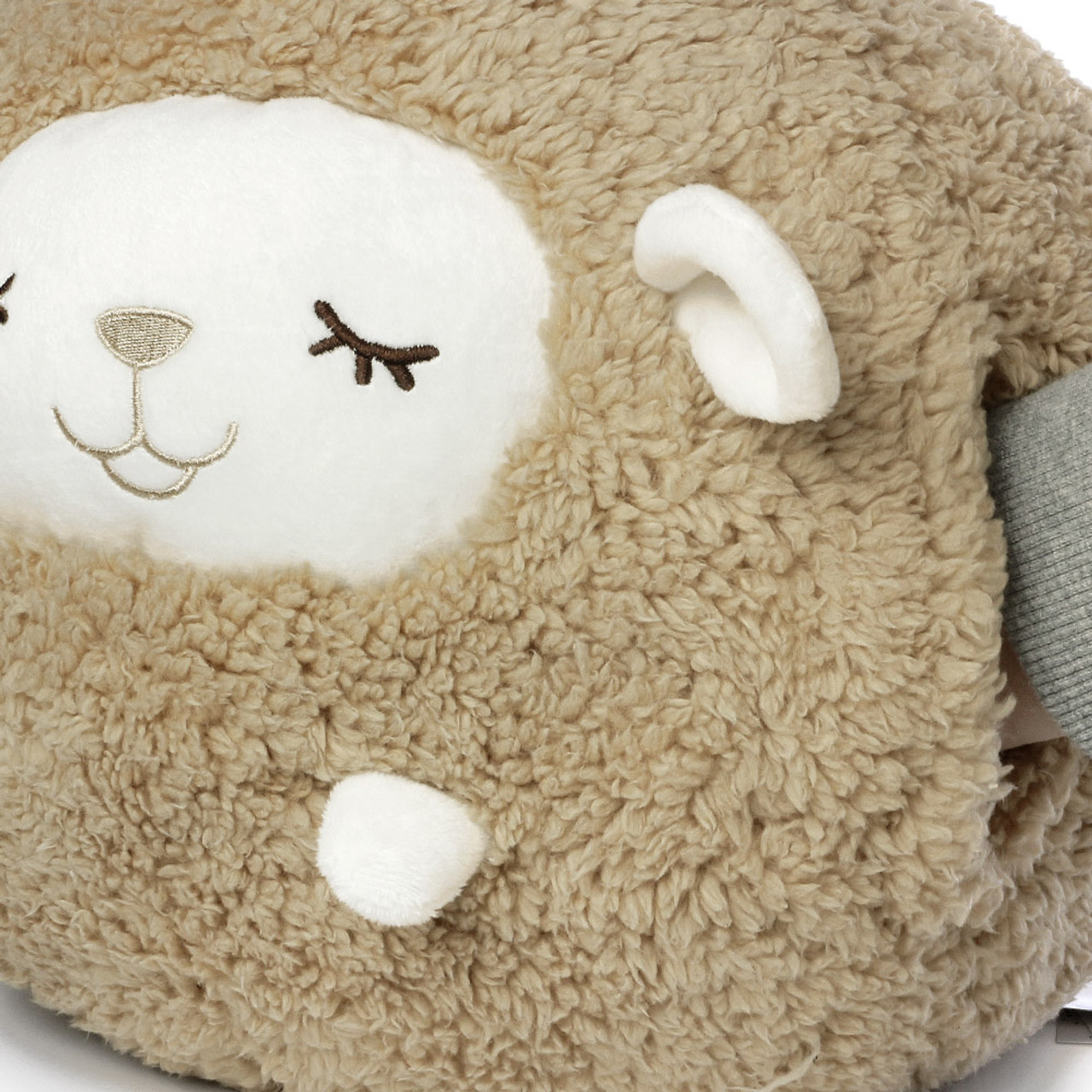 Liv Heart Brown Maple Sheep Doll Cushion ( Close-up )