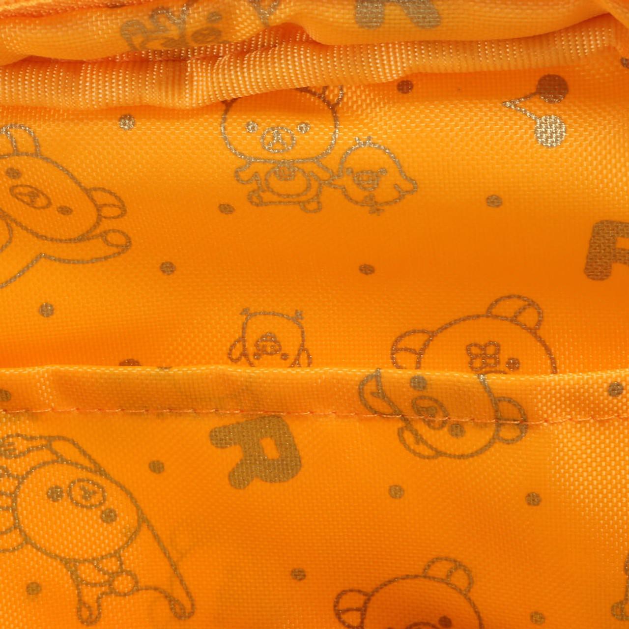 San-x Kiiroitori Yellow Chick Rectangle Face Plush Cosmetic Pouch ( Inner Part )