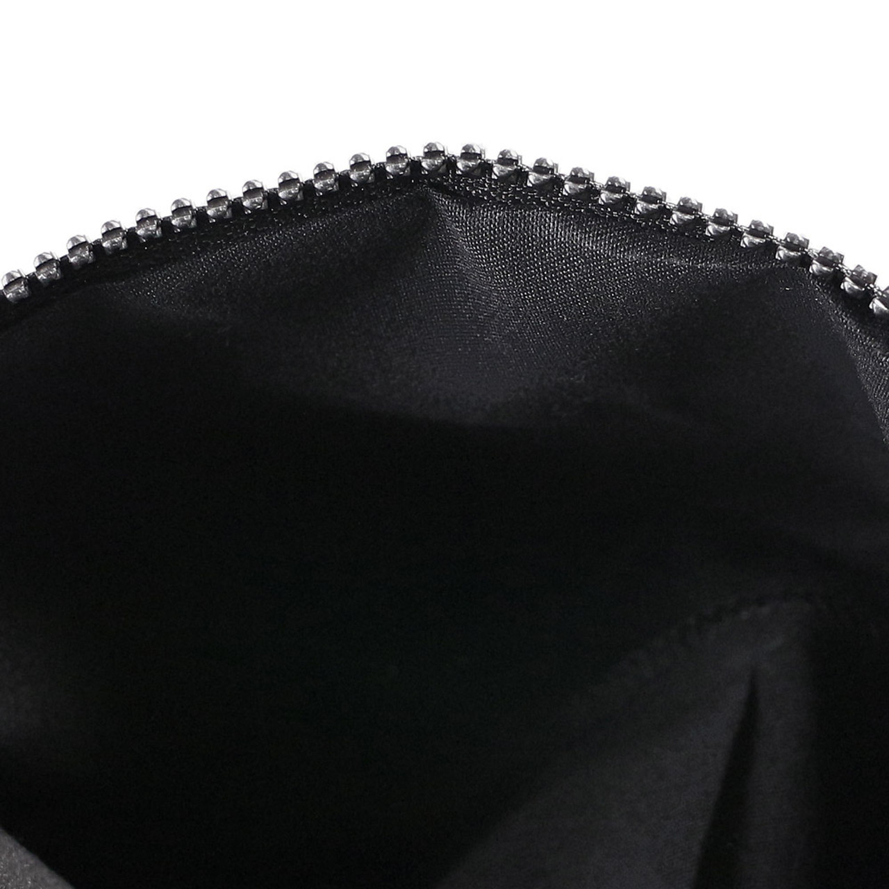 Color Change Rainbow Geometric Lattice Fold Makeup Bag ( Inner View )