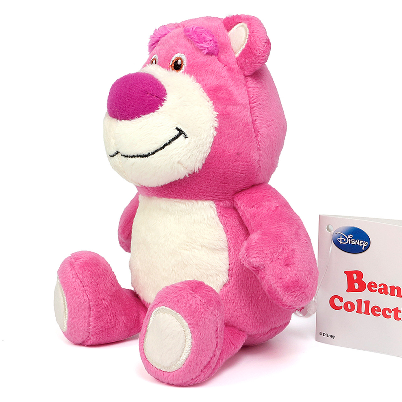 Japan Disney Beans Collection Toy Story Lotso Small Plush Doll ( Side View )