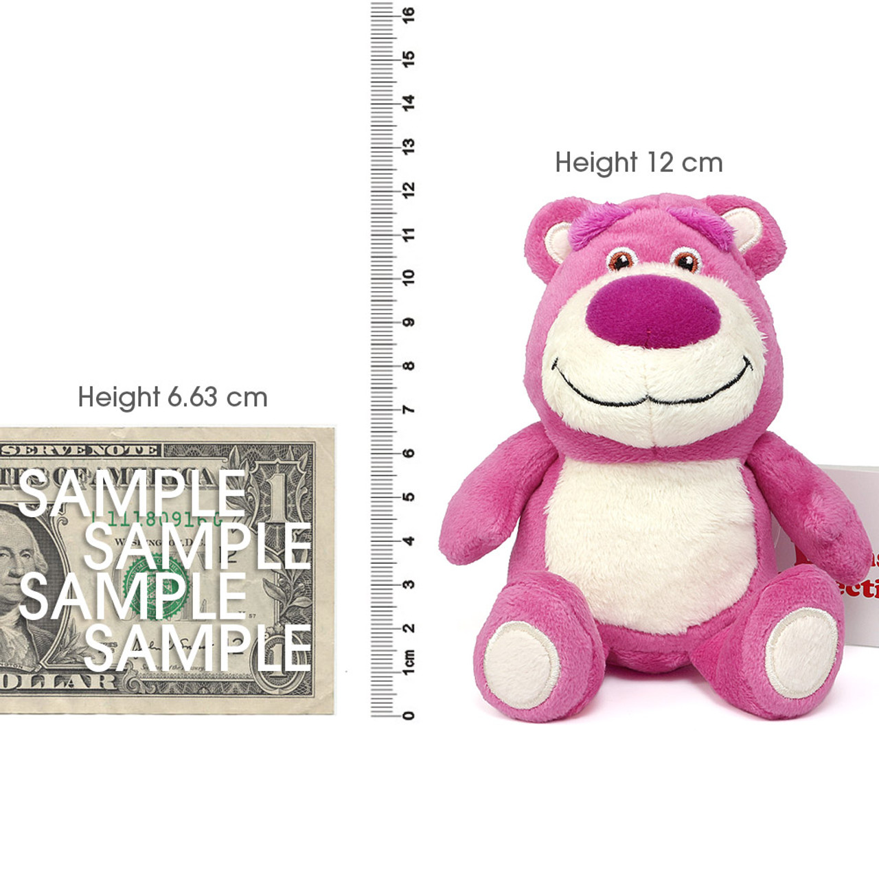 Japan Disney Beans Collection Toy Story Lotso Small Plush Doll ( Proportion )