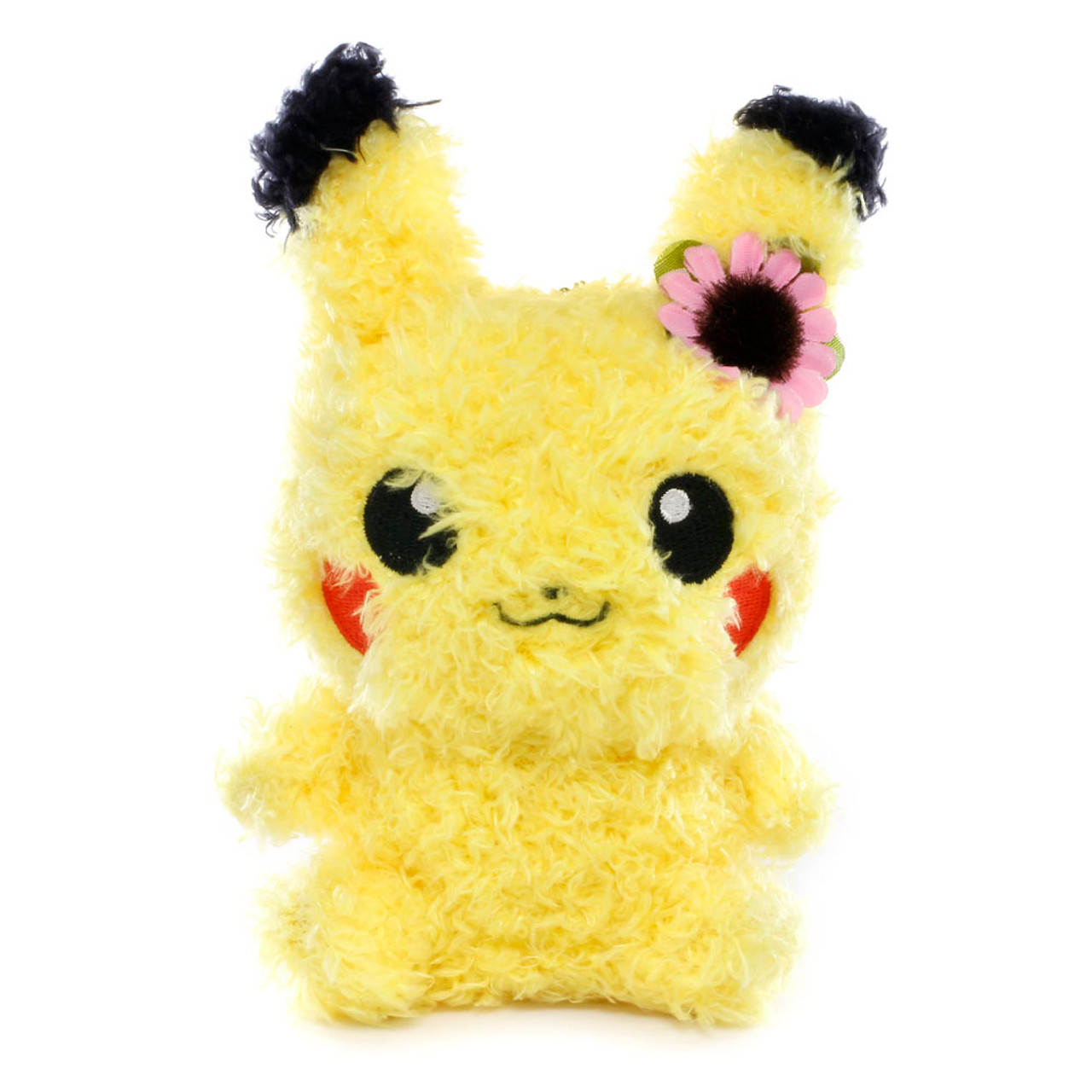 PO] PIKACHU FLUFFY HARD-CASE COVER