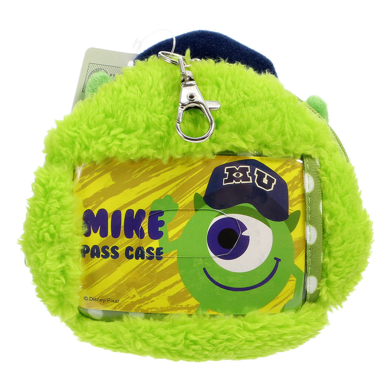 Pixar Monster University Mike Fluffy Plush Pouch ( Back View )