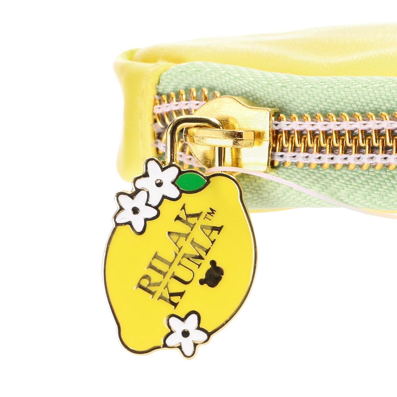 Rilakkuma Lemon Series Coins Purse ( Zipper Puller )