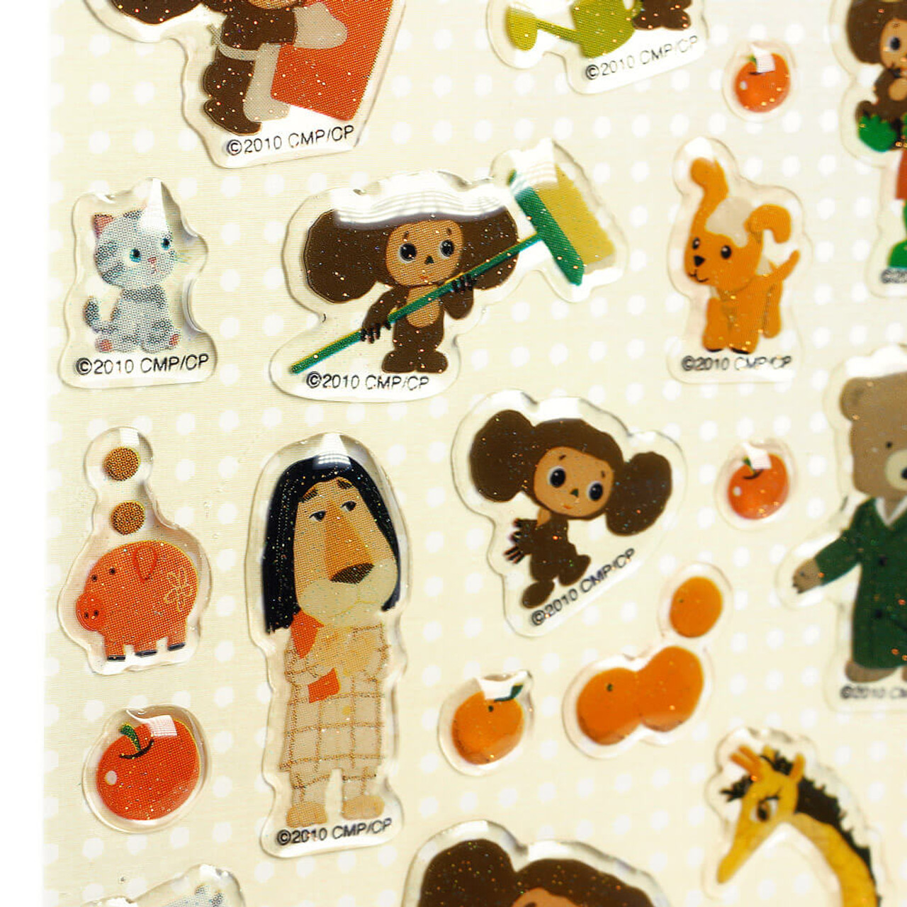 Cheburashka Yeoypawka 3D Puffy Sticker CHST03 - Zoo ( Close-up )
