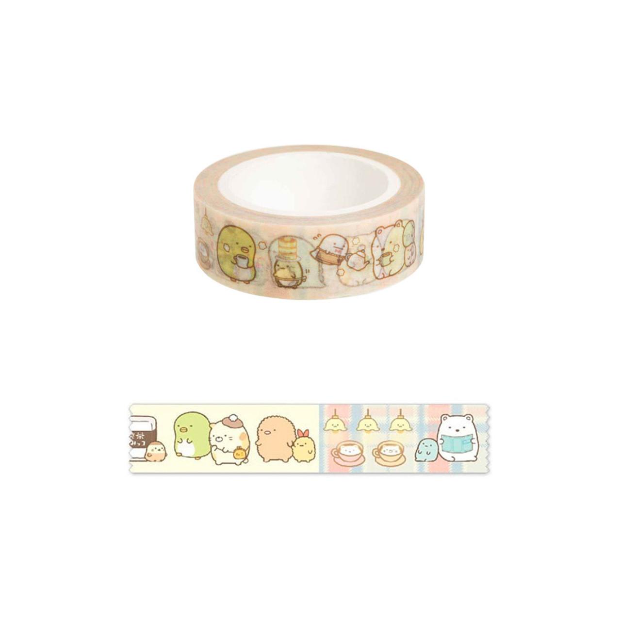 Sumikko Gurashi Deco Tape - Cafe ( Pattern )