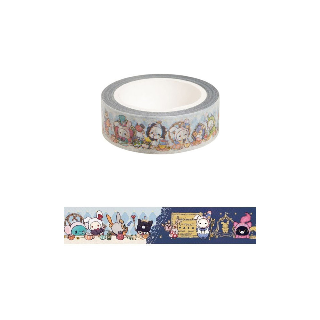 Sentimental Circus Deco Tape - Alice ( Pattern )