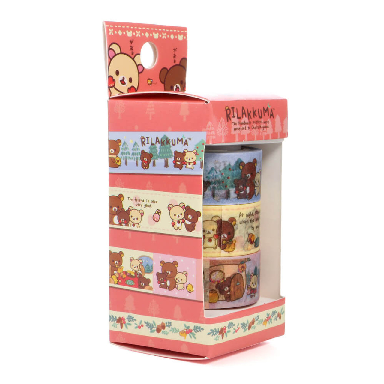 Rilakkuma Handmade Mittens Washi Tape - SE30801 ( Packing 03)