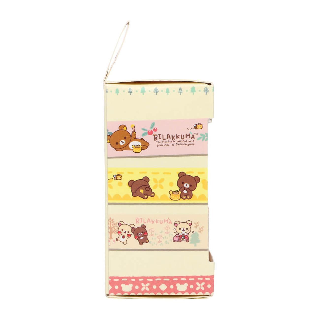 Rilakkuma Handmade Mittens Washi Tape - SE30802 ( Packing 02 )