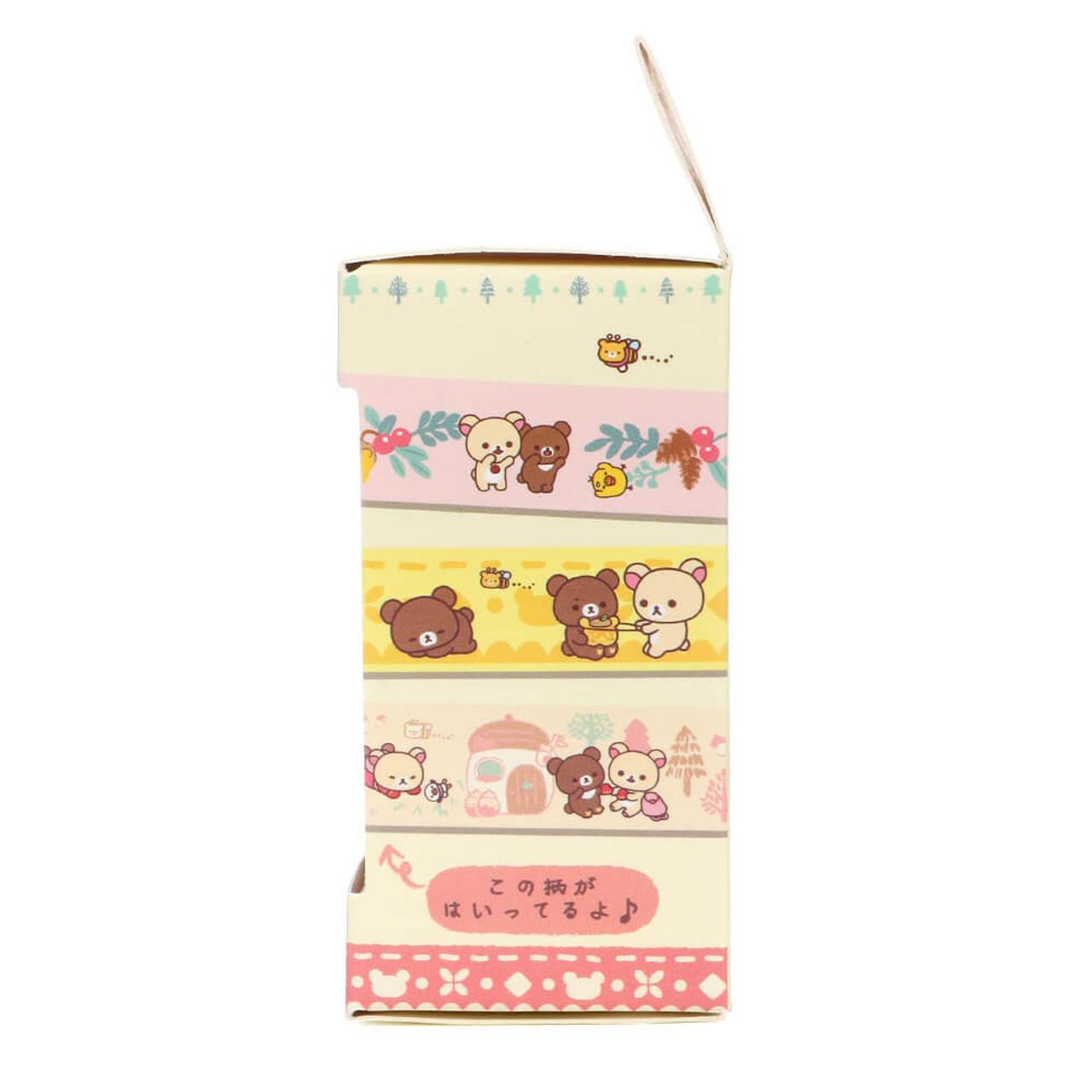 Rilakkuma Handmade Mittens Washi Tape - SE30802 ( Packing 03 )