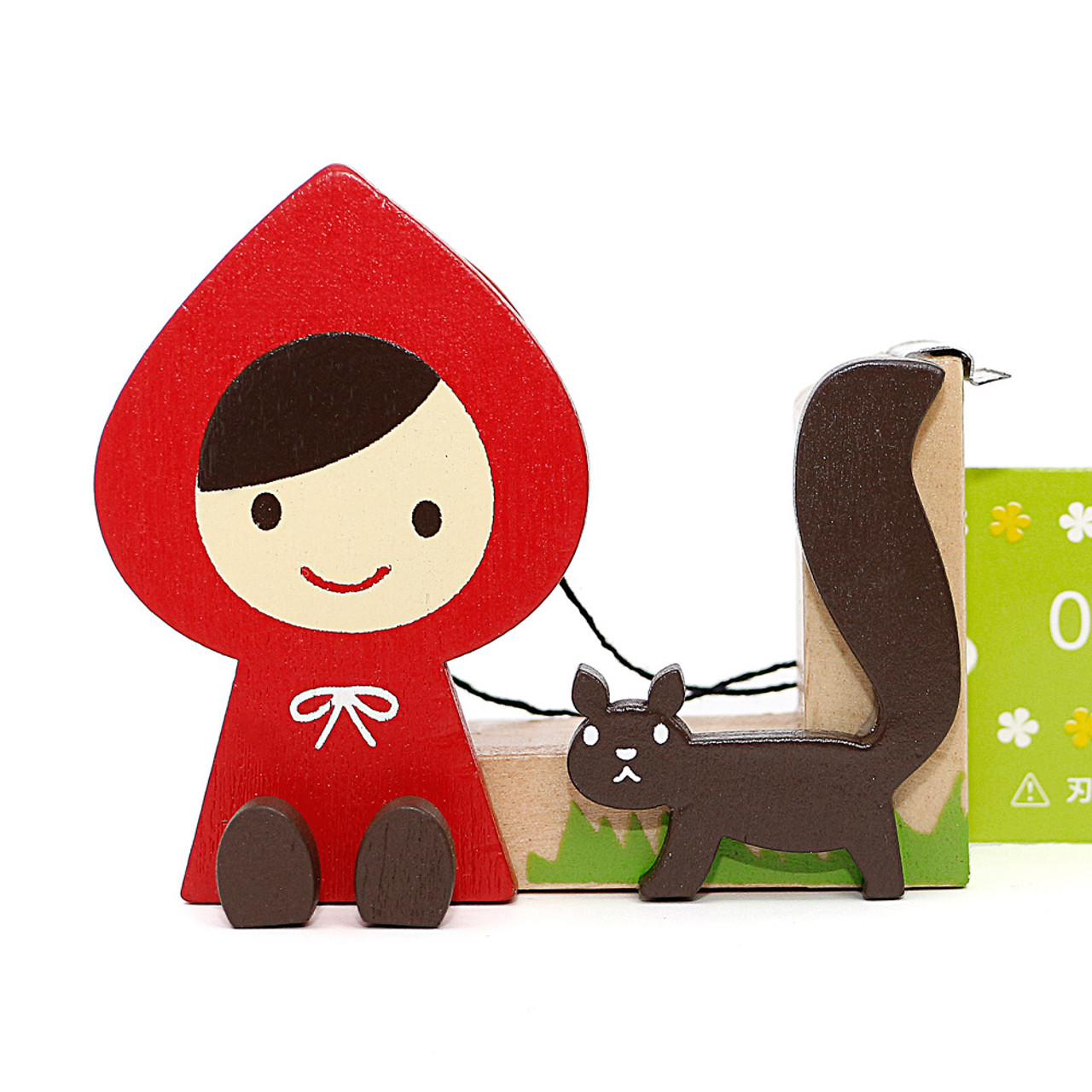 Decole Little Red Hood Tape Dispenser ( Cover View )