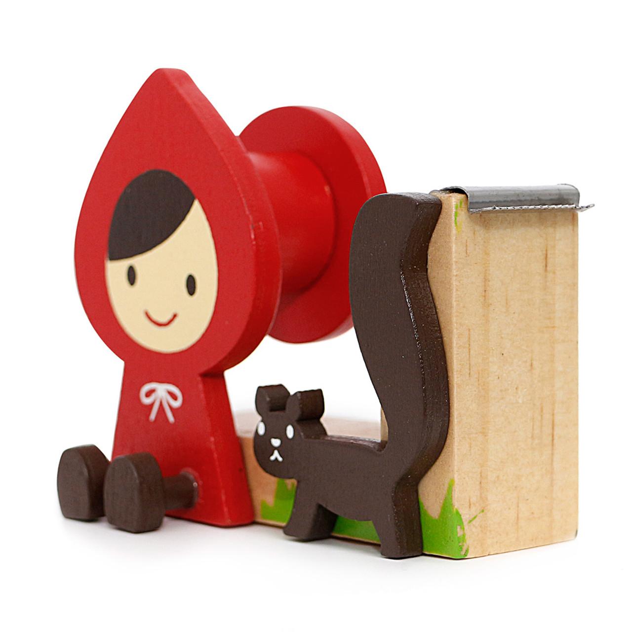 Decole Little Red Hood Tape Dispenser ( Side View )
