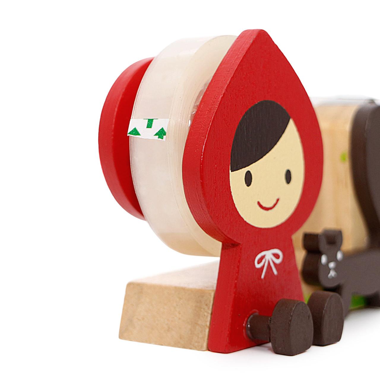 Decole Little Red Hood Tape Dispenser ( Close-Up )