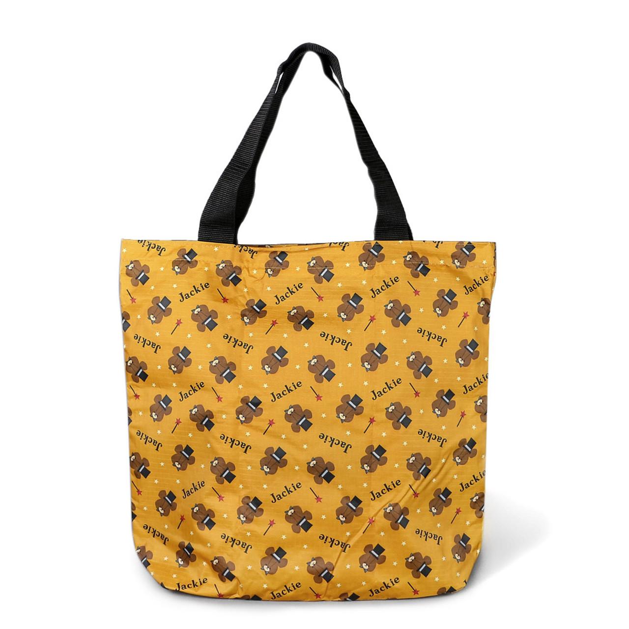 The Bears' School Jackie Shopping Bag - Brown ( Tota Bag Mode )