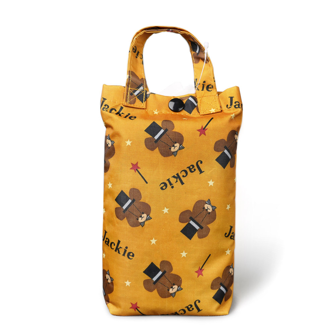 The Bears' School Jackie Shopping Bag - Brown ( Folded Mode )