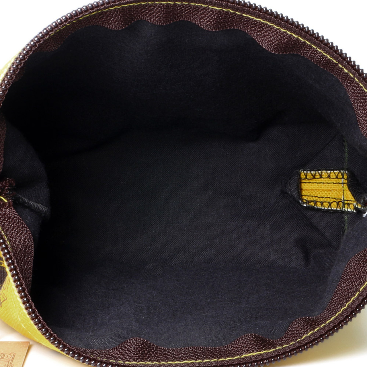 One Piece Yellow Cosmetic Pouch  ( Inner Part )