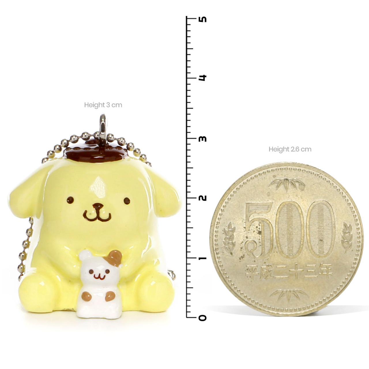 Pom Pom Purin Vinyl Mascot Charms - Hamster ( Proportion )
