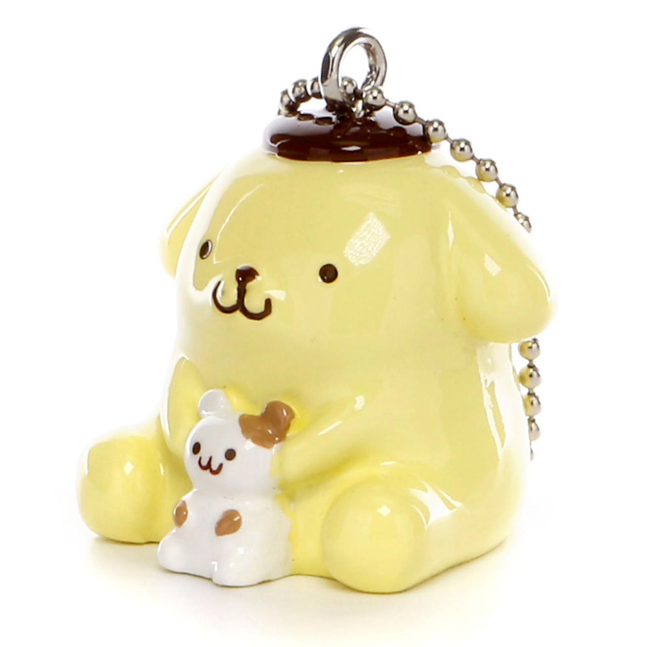 Pom Pom Purin Vinyl Mascot Charms - Hamster ( Side View )