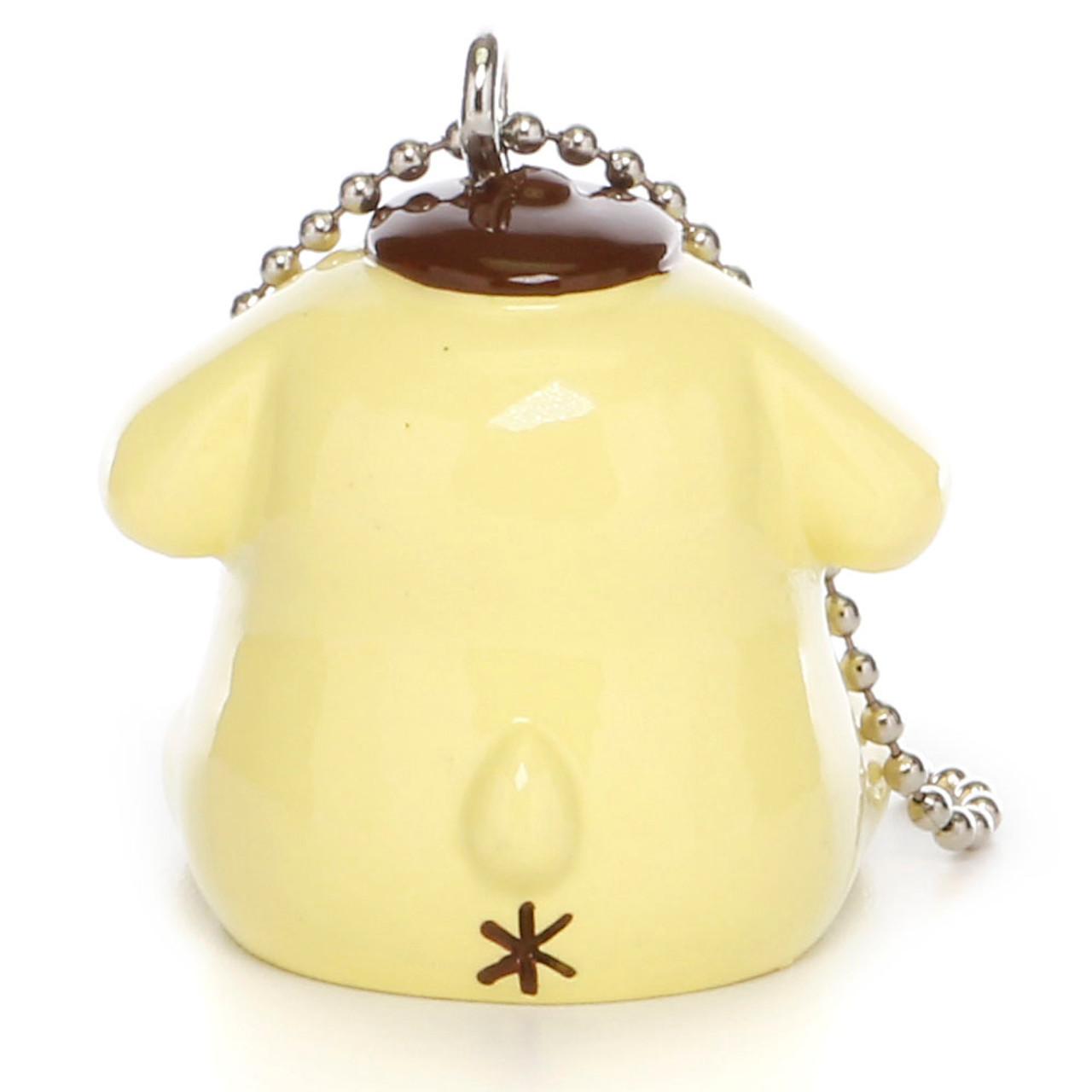Pom Pom Purin Vinyl Mascot Charms - Hamster ( Back View )
