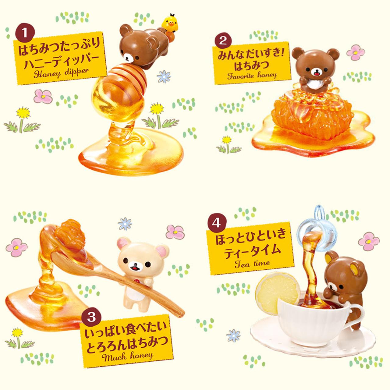 Rilakkuma Blind Box Figure - Honey Sweets ( Figure 01 )