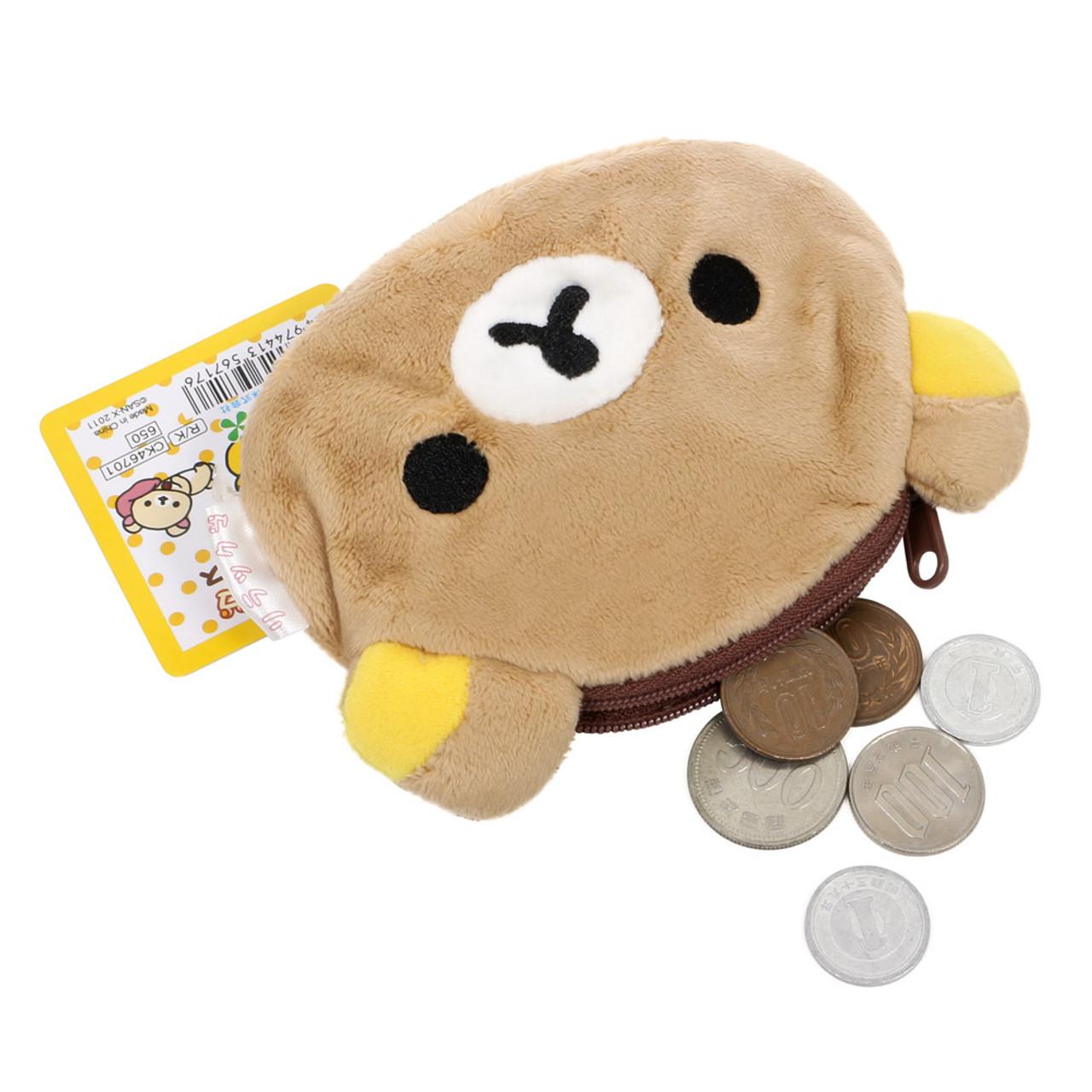 Rilakkuma Relax Bear Coin Wallet ( Carry Coins )