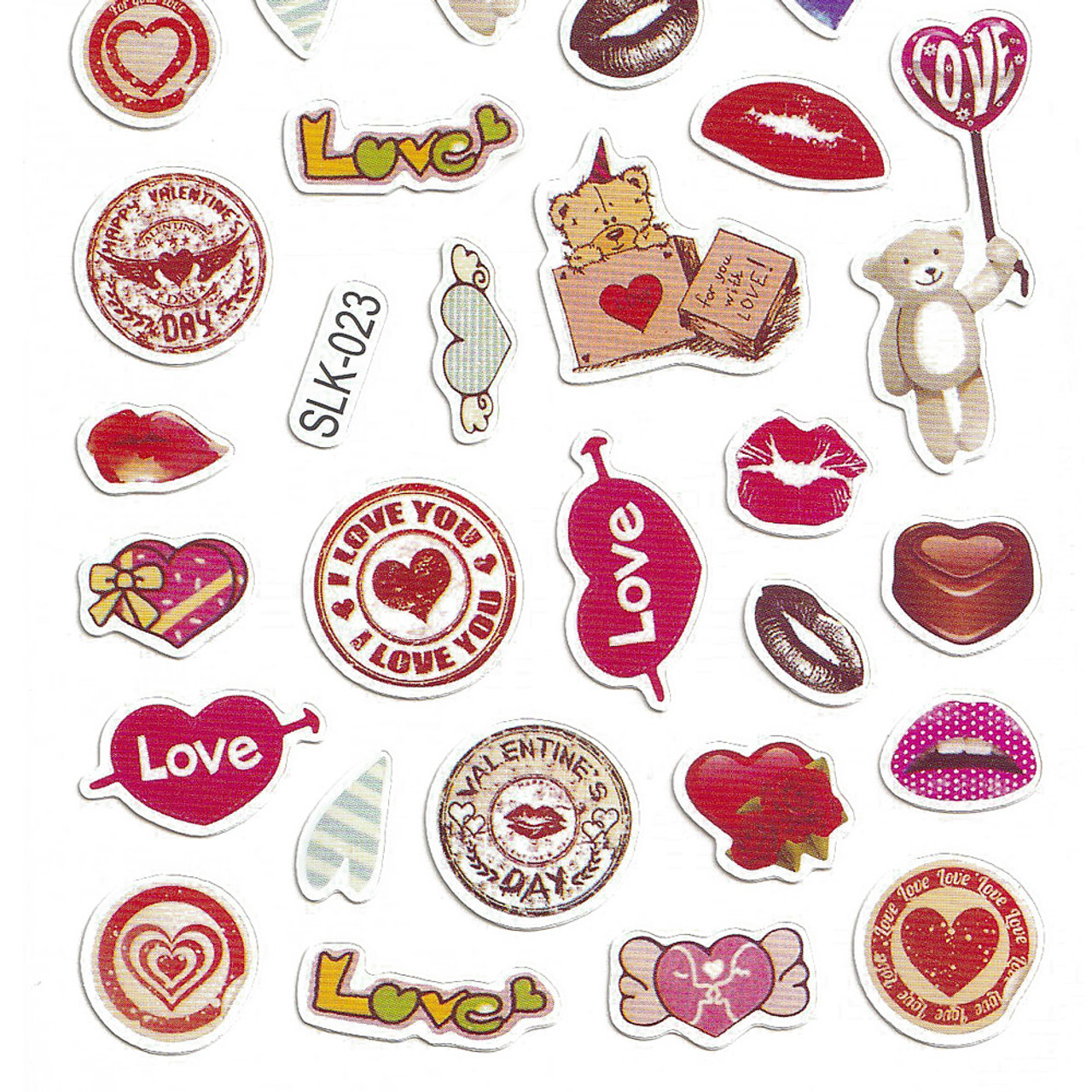 Adorable Four Style Sticker Pack ( Lovers Bottom )