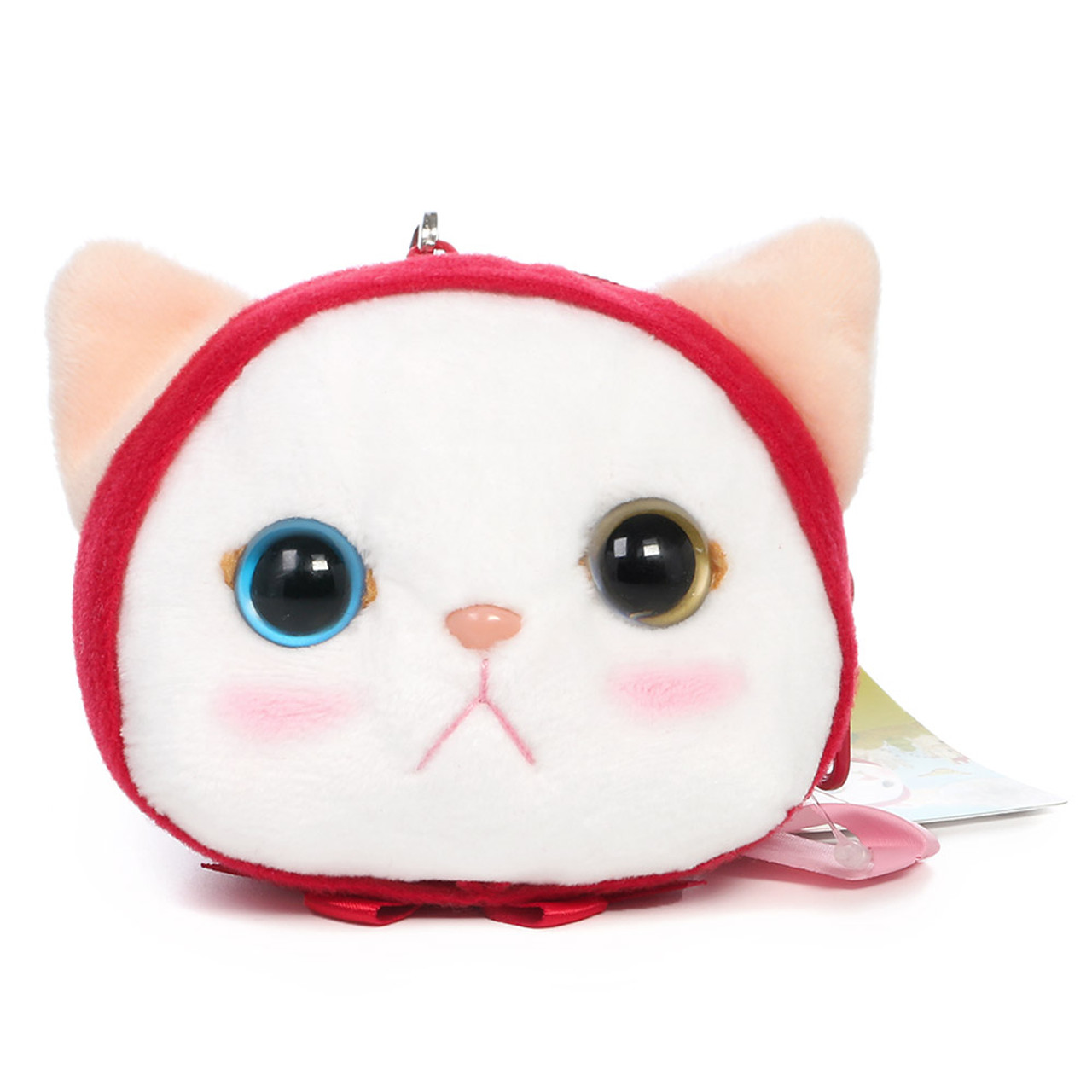 Choo Choo Cat Mini Coin Pouch - Little Red Riding Hood ( Front View )