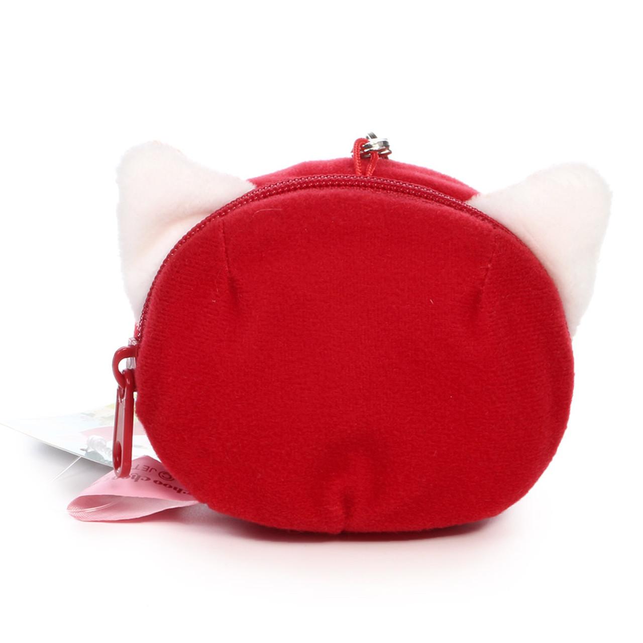 Choo Choo Cat Mini Coin Pouch - Little Red Riding Hood ( Back View )