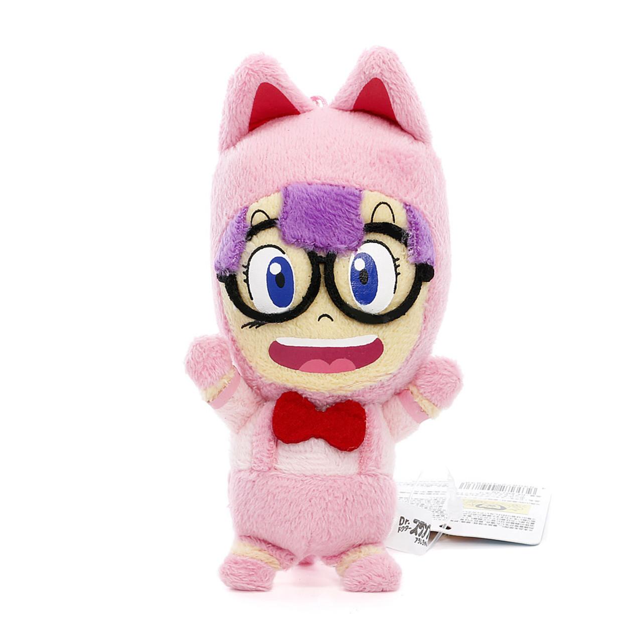 Dr. Slump Arale Norimaki Mascot Plush KeyChain ( Front View )
