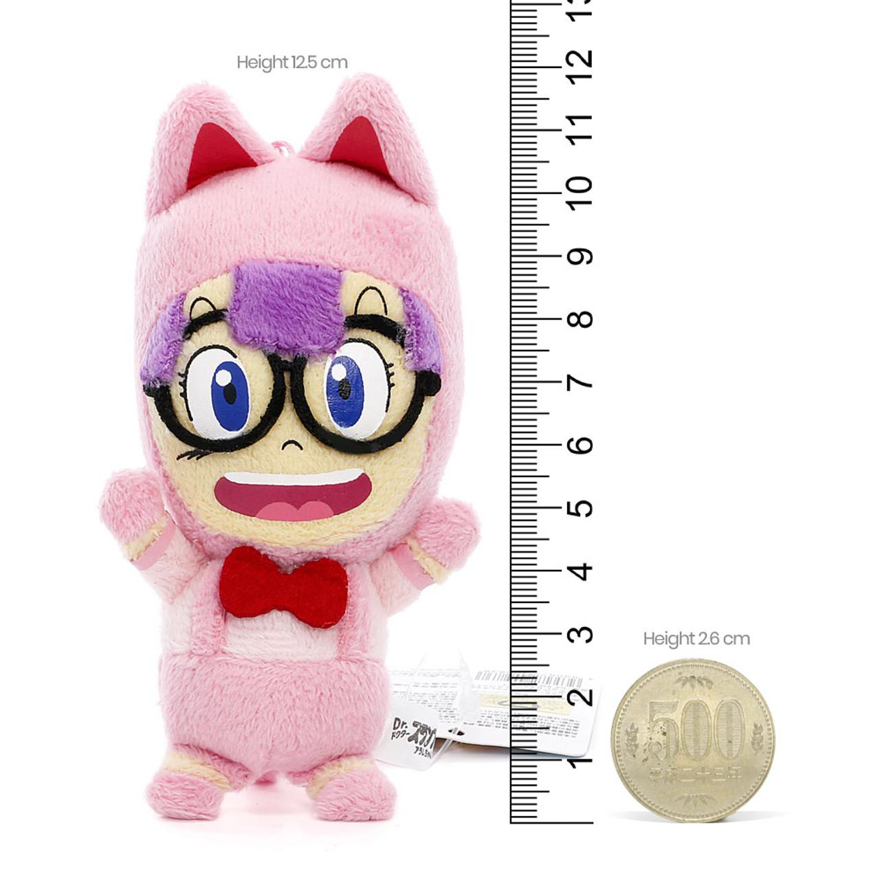 Dr. Slump Arale Norimaki Mascot Plush KeyChain( Proportion )