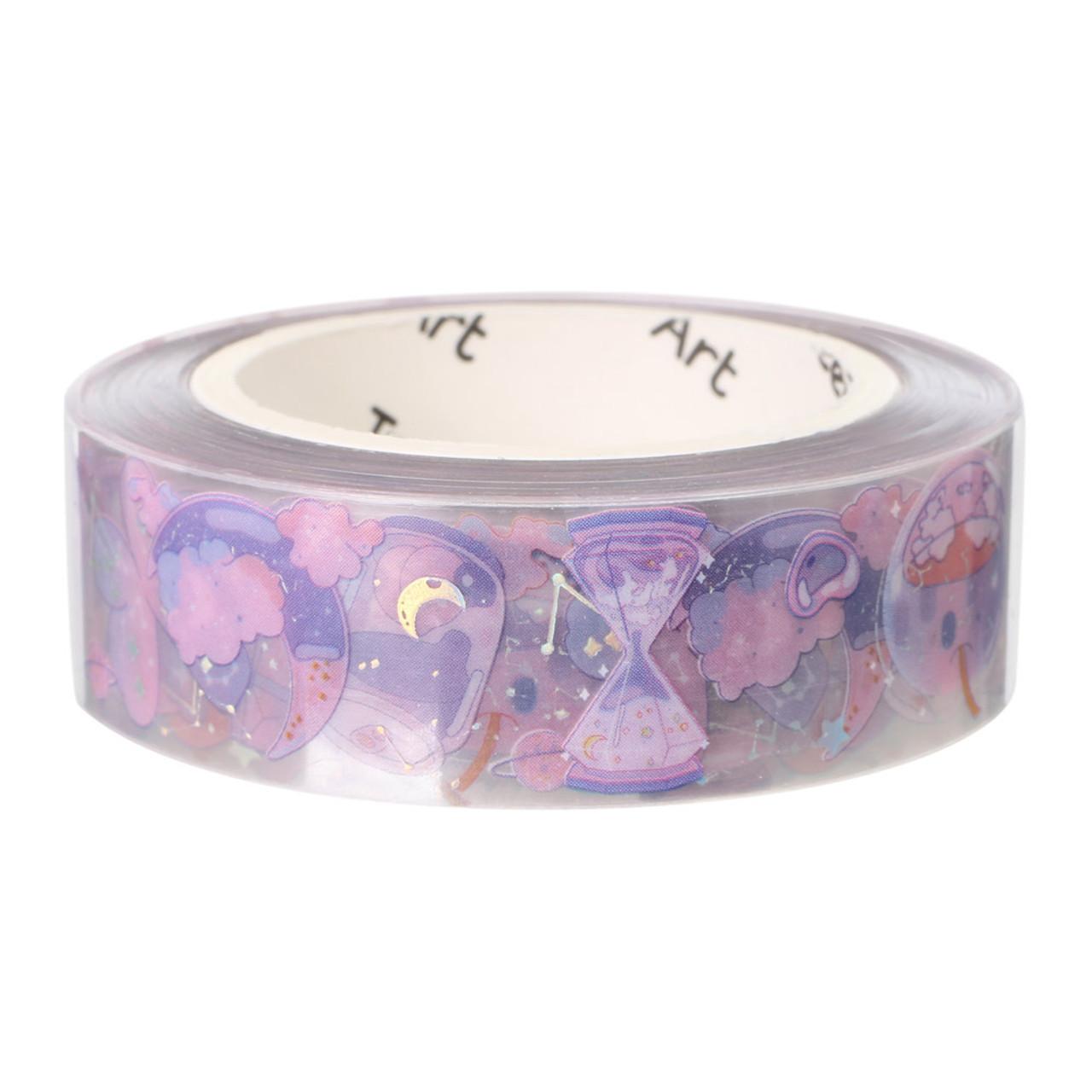 Crystals Age PET Masking Tape - Tea ( Deco Tape )