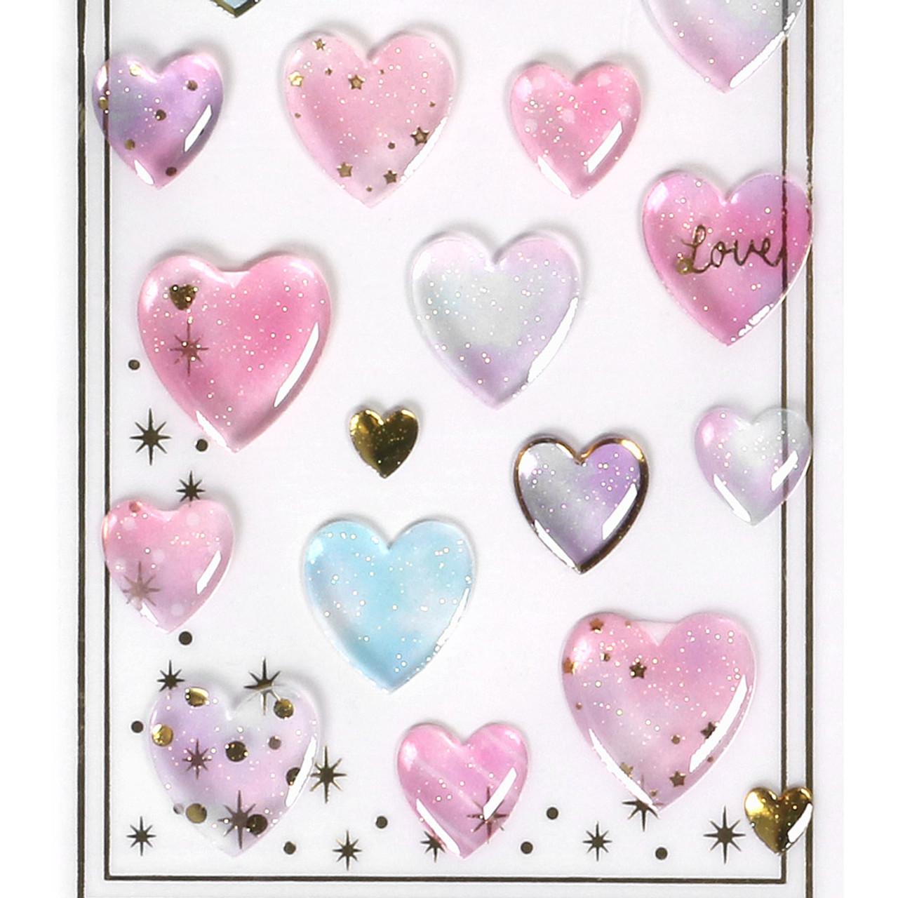 Shiny Crystal Sticker WV01 ( Pure Heart ) ( Bottom Part )