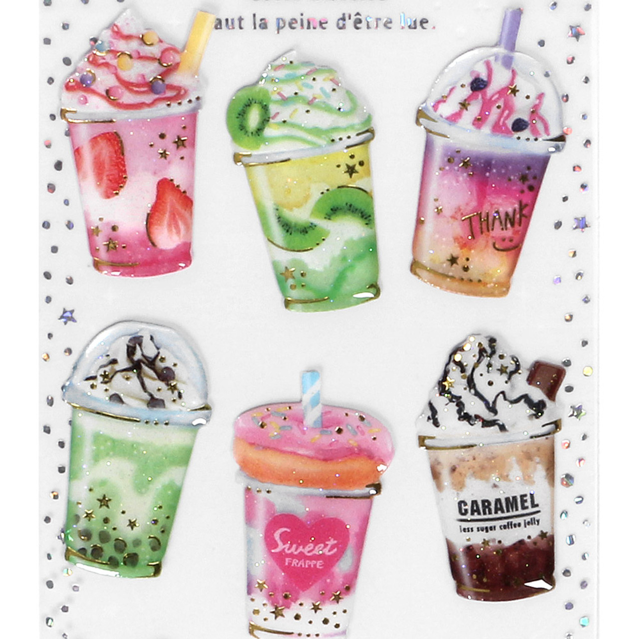 Dream Lunar Tears Sticker WT01 ( Special Drink ) ( Top Part )