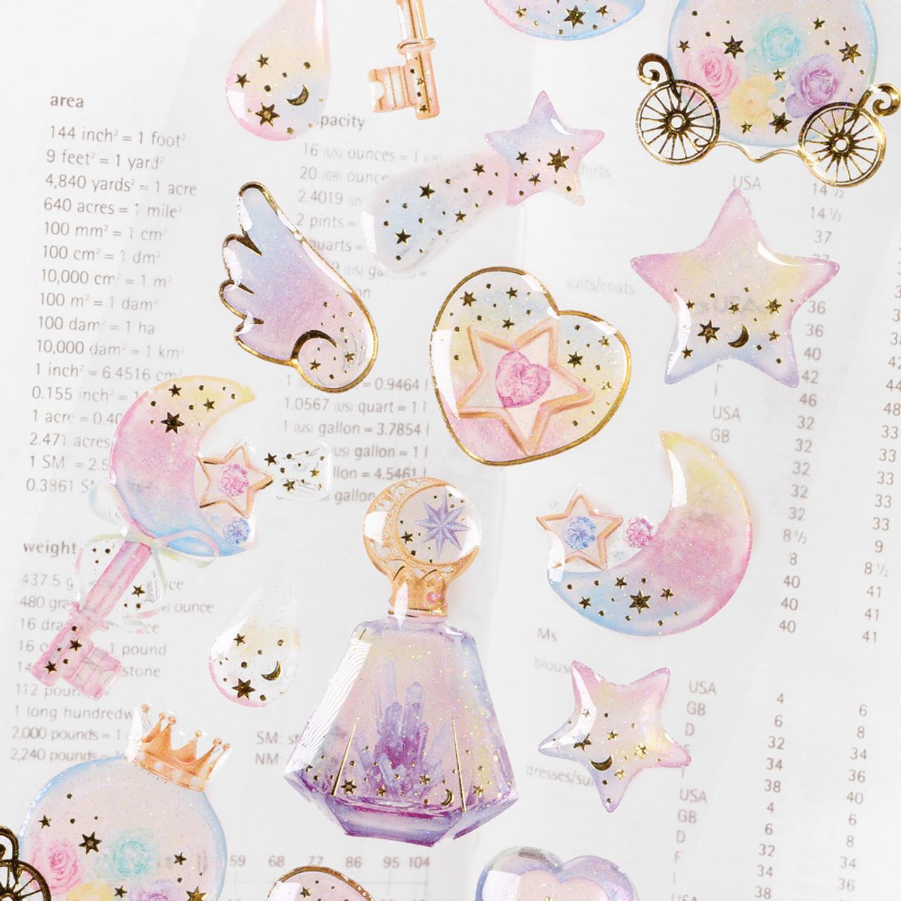 Dream Lunar Tears Sticker WT02 ( Fantasy ) ( Close-up )