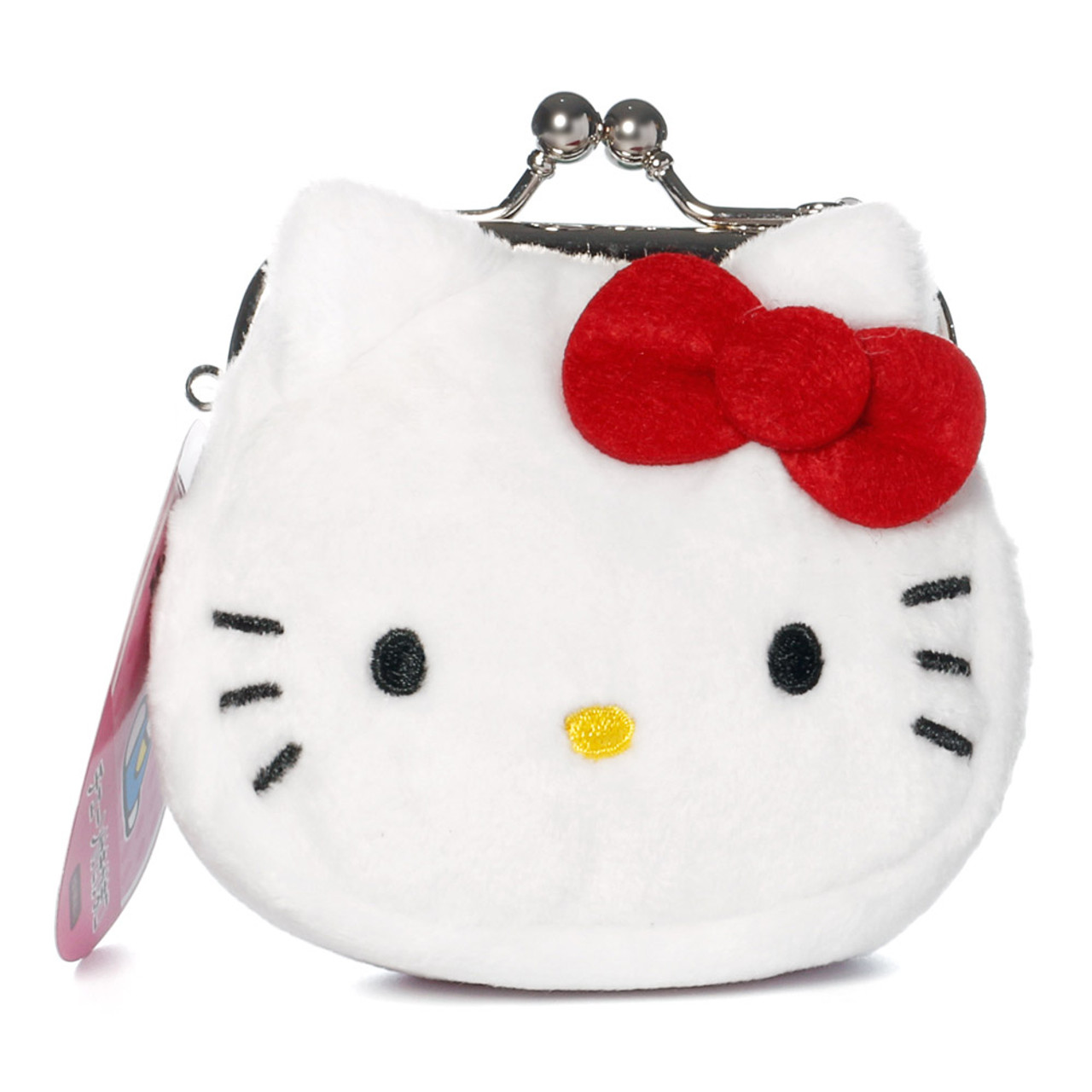 Hello Kitty Mini Ball Clasp Coins Wallet ( Front View )