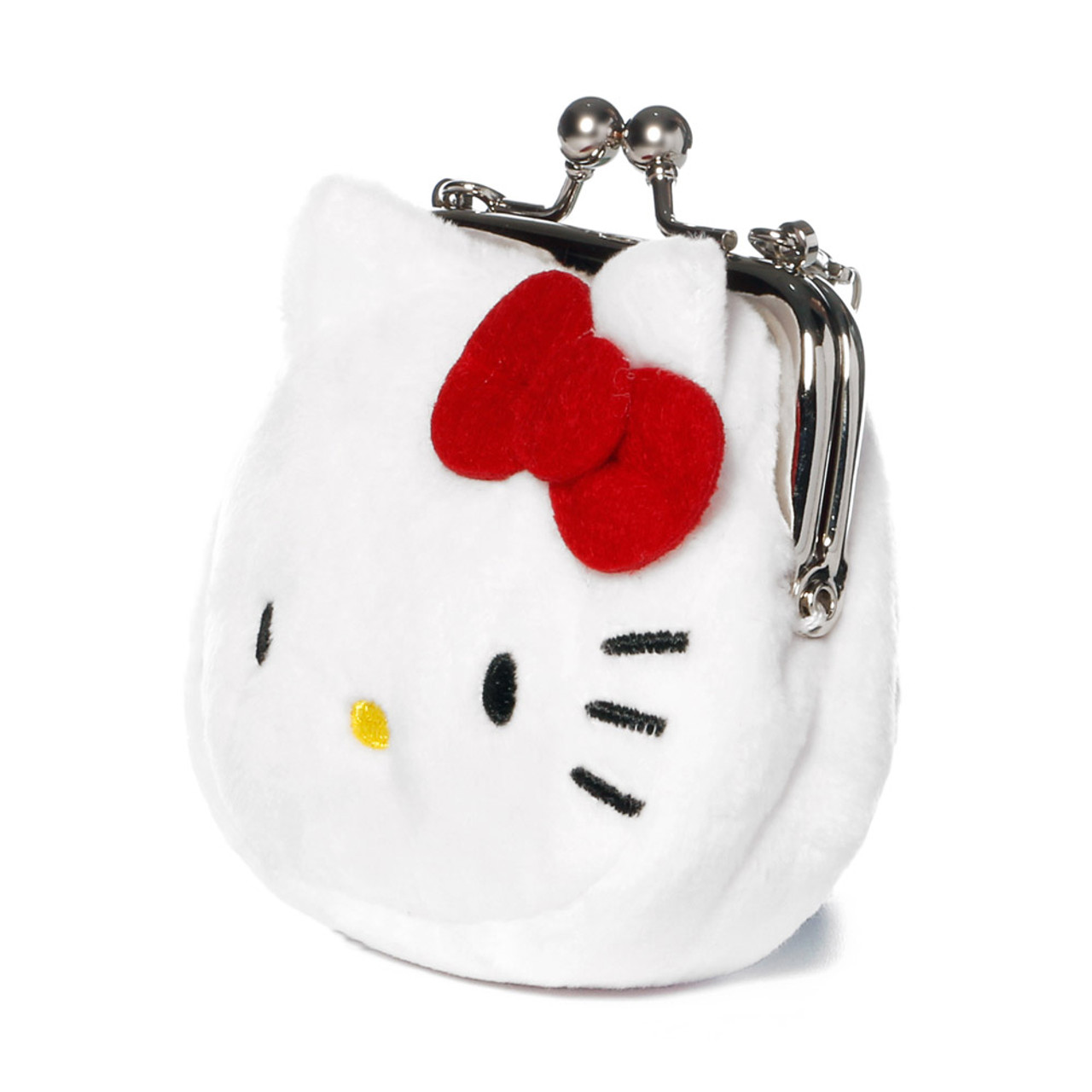 Hello Kitty Mini Ball Clasp Coins Wallet ( Side View )